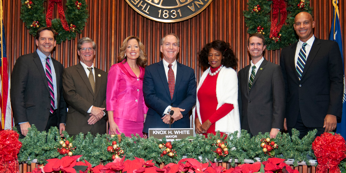 The 2019-2020 Greenville City Council members