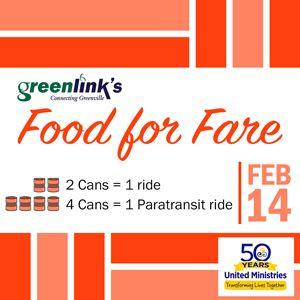Food For Fare graphic text