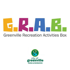 GRAB logo and Parks Department logo
