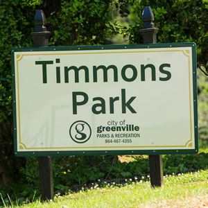 Timmons Park sign