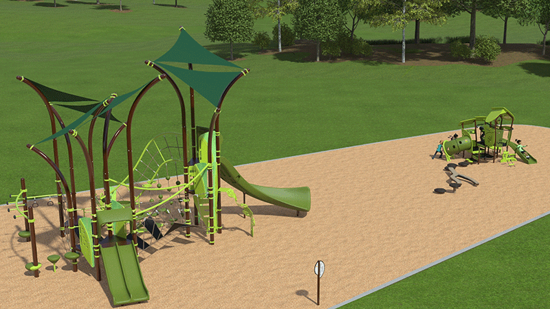 Timmons Park Playground Rendering